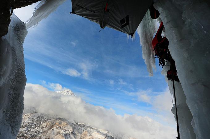 Wspinaczka lodowa w Iranie (fot. Mohammad Hajabolfath)