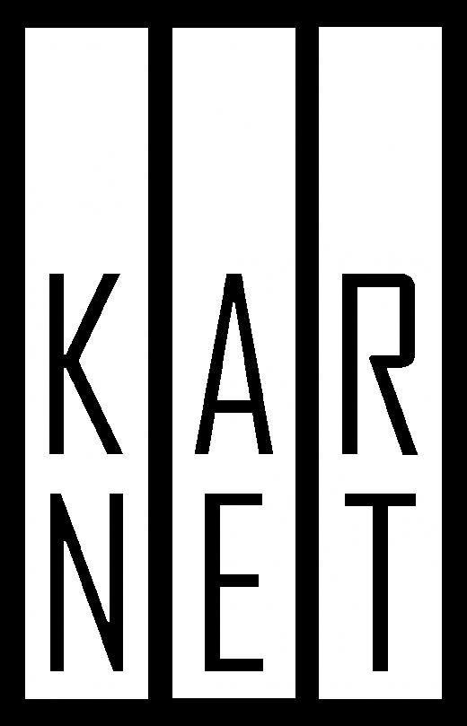 logo karnet bialy