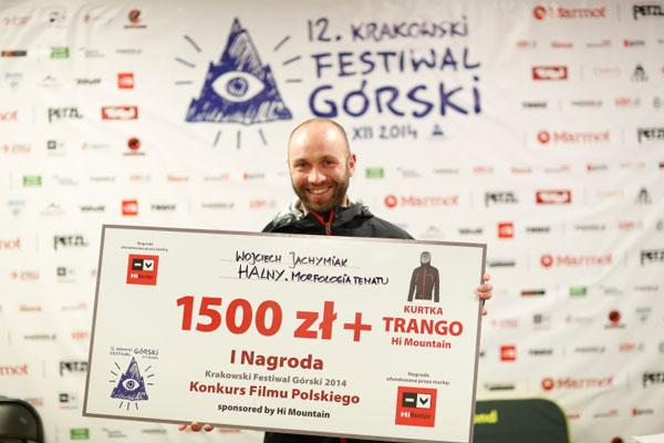 I Nagroda w Konkursie Filmu Polskiego (fot. Wojciech Lembryk)