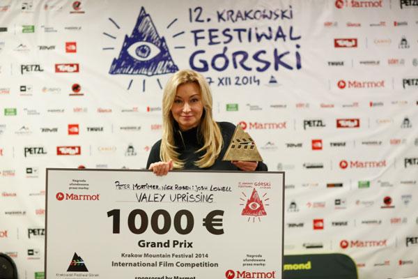 Martyna Wojciechowska i Grand Prix KFG 2014 (fot. Wojciech Lembryk)