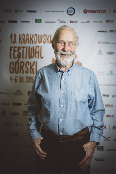 Sir Chris Bonington (fot. Adam Kokot / KFG)
